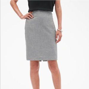 Banana Republic Dark Grey Pencil Skirt